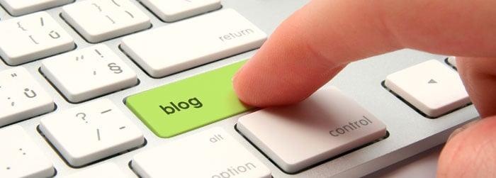 Botón Blog Teclado