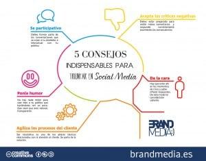 5 Consejos indispensables para triunfar en social media
