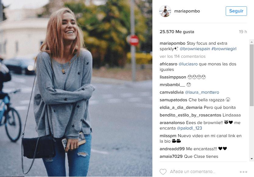 Instagram María Pombo