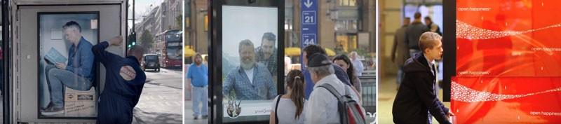 Ejemplos de publicidad exterior
