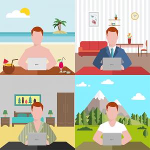 Smart Working , teletrabajo, home office