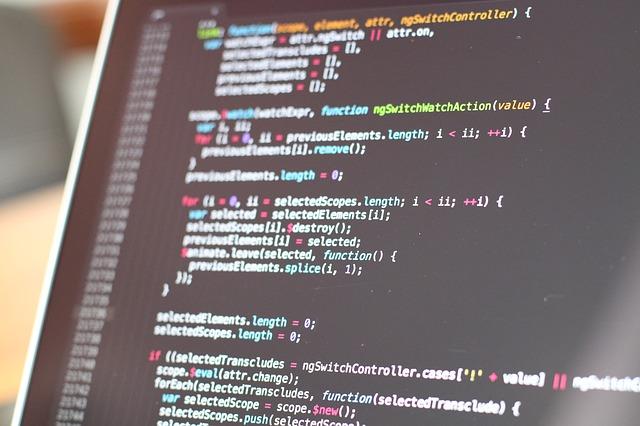 Imagen Código Página web