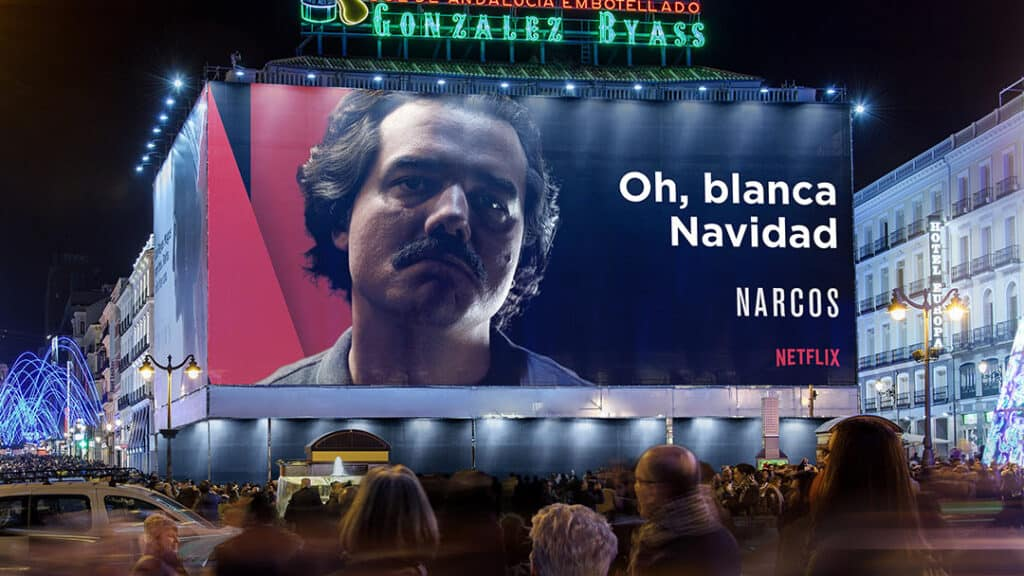Publicidad offline Netflix