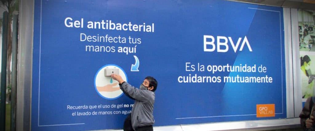 Publicidad offline BBVA